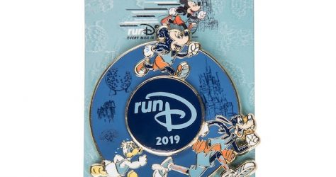 Mickey Mouse and Friends runDisney 2019 Spinner Pin