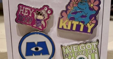 Monsters, Inc. Disney Pin Set