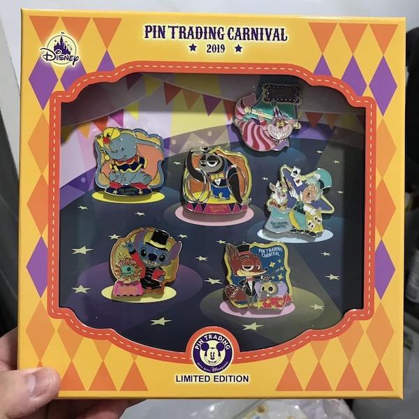 Pin Trading Carnival 2019 Pin Set