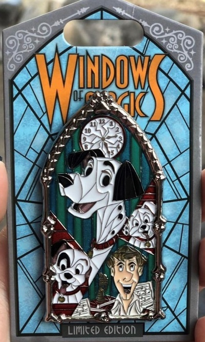 Pongo Windows of Magic Pin
