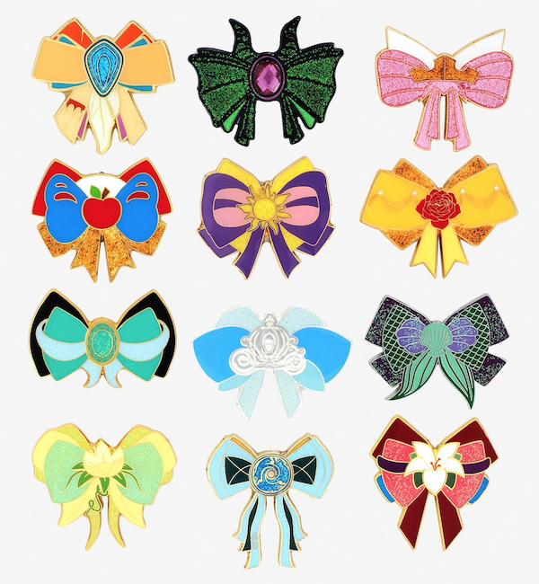 Princess Bows BoxLunch Disney Mystery Pins