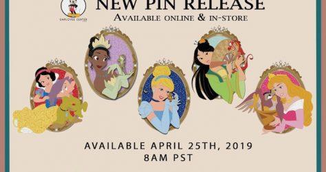 Princess Partners Disney Employee Center Pins