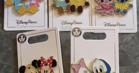 Raincoat Shanghai Disneyland Pins