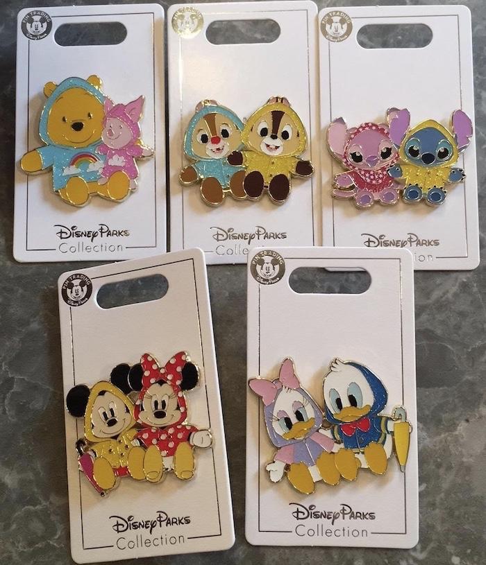 Raincoat Shanghai Disneyland Pins