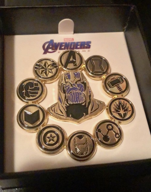 Regal Theater Avengers Endgame Pin