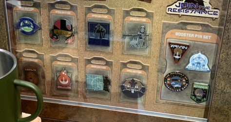 Resistance Star Wars Galaxy's Edge Pins