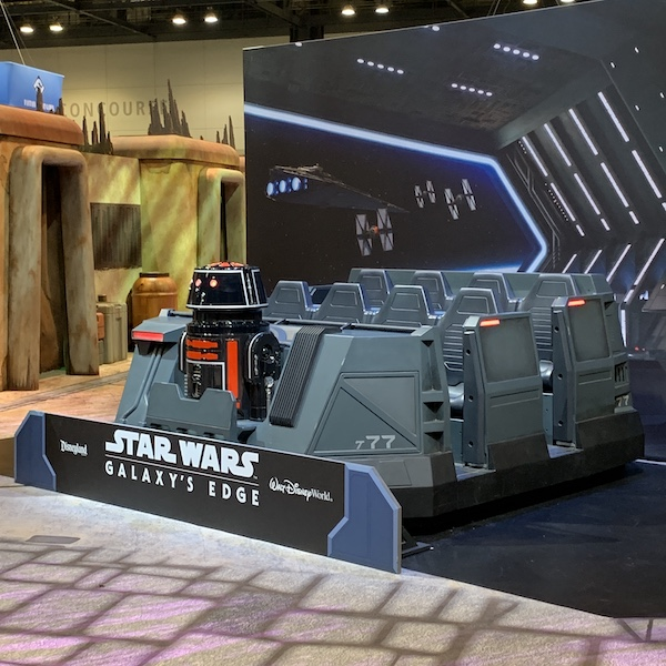 Rise of the Resistance Attraction Vehicle