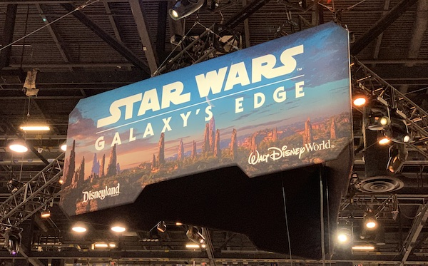 Star Wars Galaxy's Edge Sign