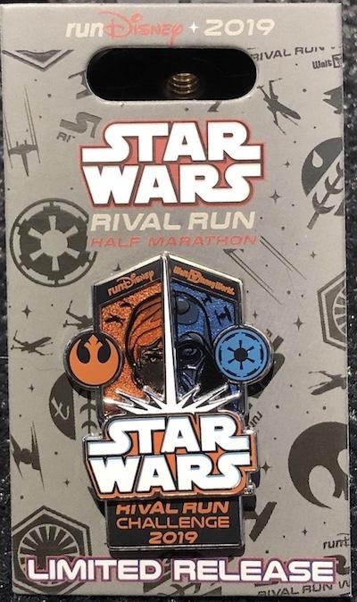 Star Wars Rival Run Challenge 2019 Pin