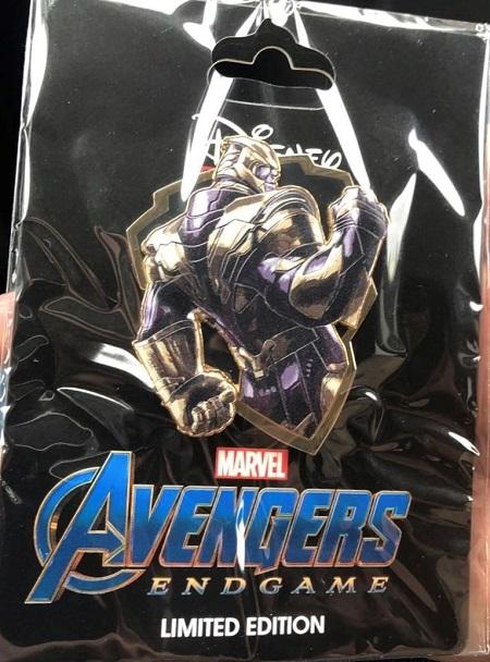 Surprise Avengers Endgame Thanos Pin