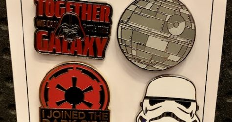 The Dark Side Star Wars Pin Set