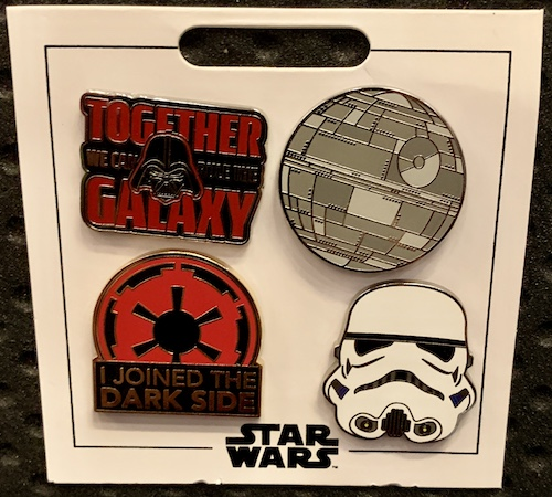 The Dark Side Star Wars Pin Set