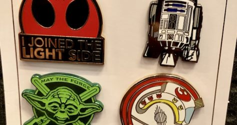 The Light Side Star Wars Pin Set