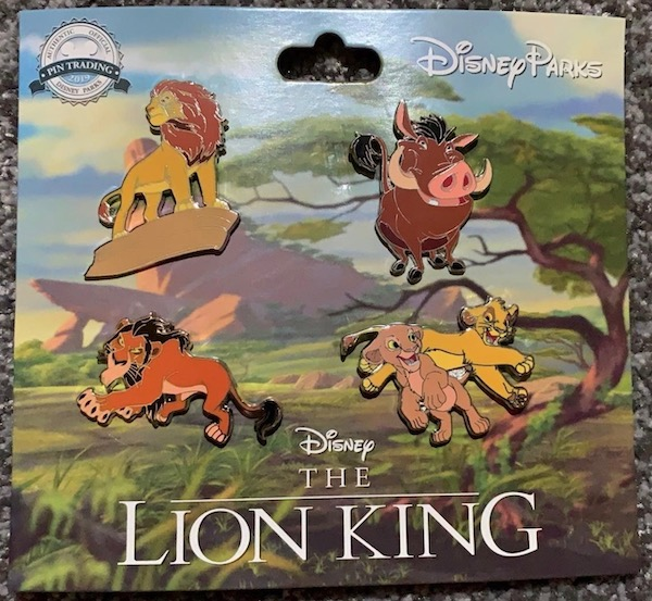 The Lion King Booster Pin Set