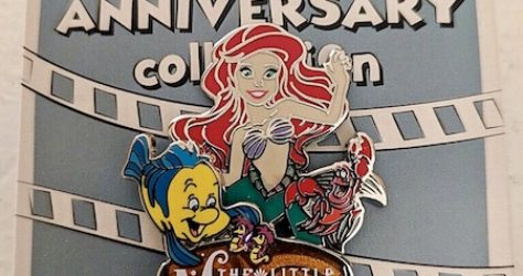 The Little Mermaid 30th Anniversary Cast Member Pin