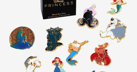 The Little Mermaid BoxLunch Disney Blind Box Pins