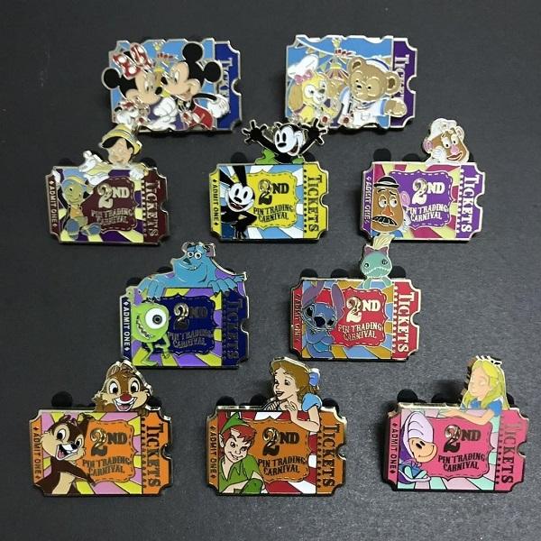 Ticket Disney Pins - Pin Trading Carnival 2019