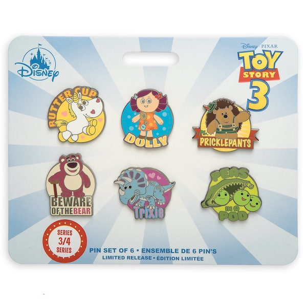 Toy Story Disney Store 2019 Pin Set Series #3