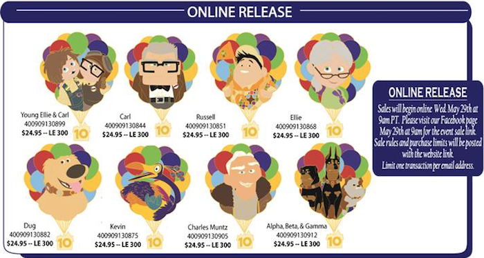 Up DSSH 10th Anniversary Pin Collection