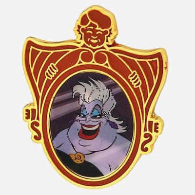 Ursula Lenticular Enamel Pin