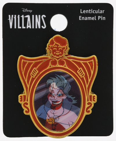 Ursula & Vanessa Lenticular BoxLunch Disney Pin