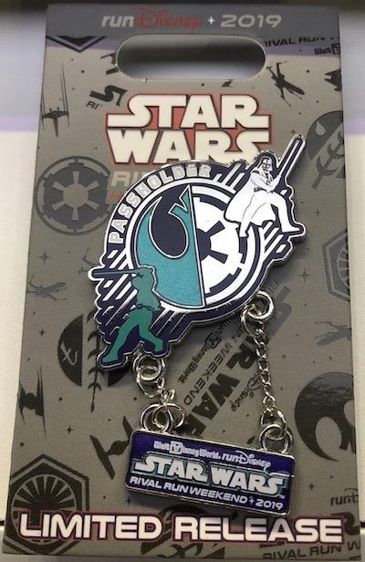 WDW Passholder Star Wars Rival Run Weekend 2019 Pin