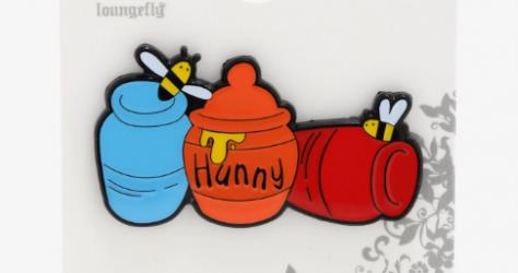 Winnie the Pooh Hunny Jars BoxLunch Disney Pin