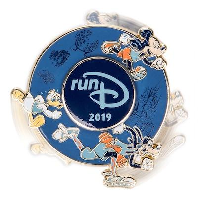 runDisney 2019 Spinner Pin