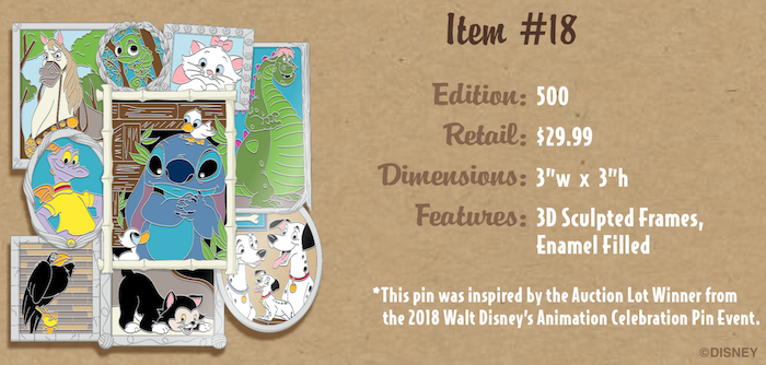 2018 Auction Lot Winner Pin