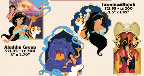 Aladdin Disney Employee Center Pins