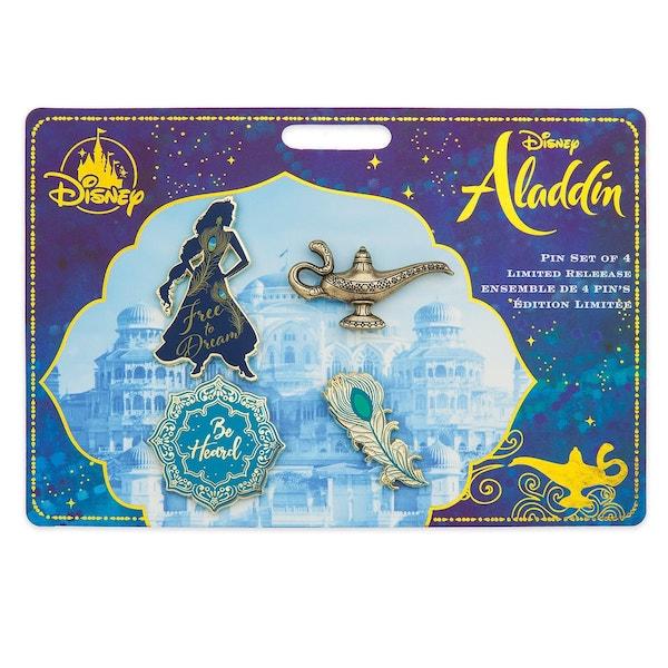 Aladdin Live Action Disney Pin Set