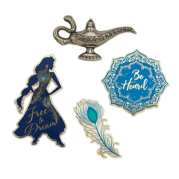 Aladdin Live Action Disney Store Pins
