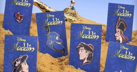 Aladdin Mondo Disney Pins