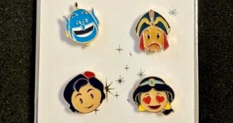 Aladdin Primark Disney Pin Set