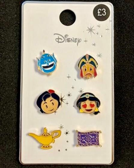 Aladdin Primark Disney Pin Set