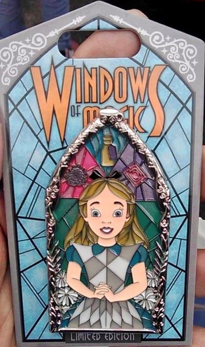 Alice Windows of Magic Pin