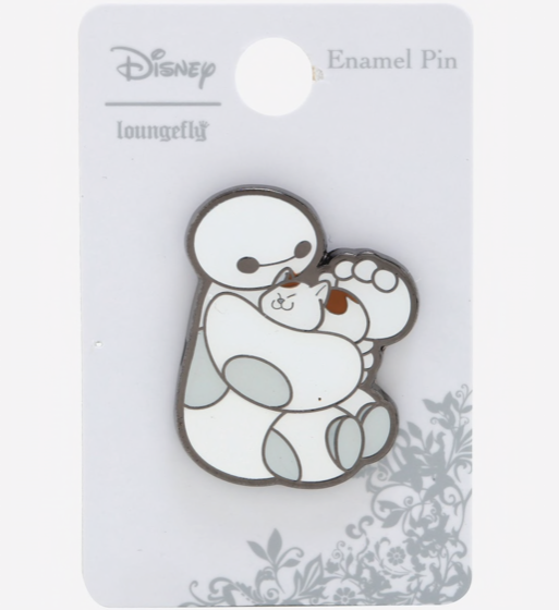 Baymax Petting Mochi BoxLunch Disney Pin