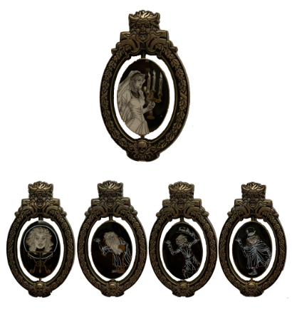 Bride Completer Haunted Mansion 50th Pin Set