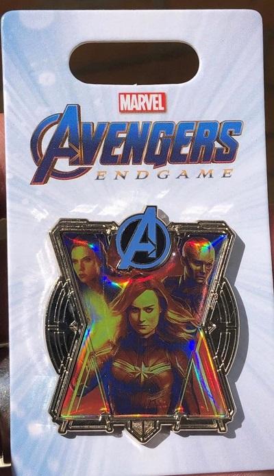 Captain Marvel, Black Widow, Nebula -Endgame Pin