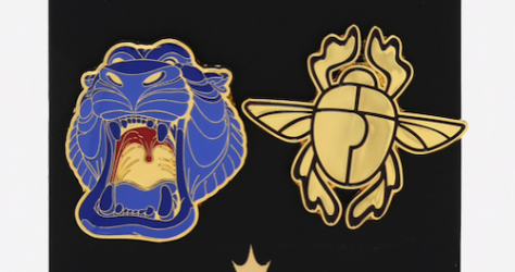 Cave of Wonders Scarab BoxLunch Disney Pin Set