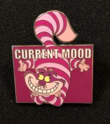 Cheshire Cat Current Mood Pin