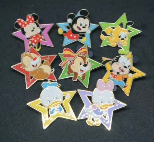 Cute Shanghai Disney Mystery Pins