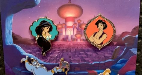 Disney Aladdin Booster Pin Set