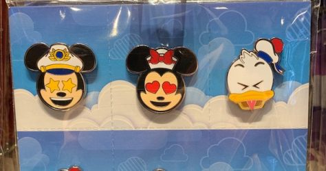 Disney Cruise Line Emoji Pin Set