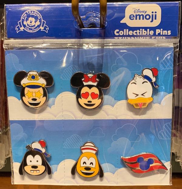 Disney Cruise Line Emoji Pin Set