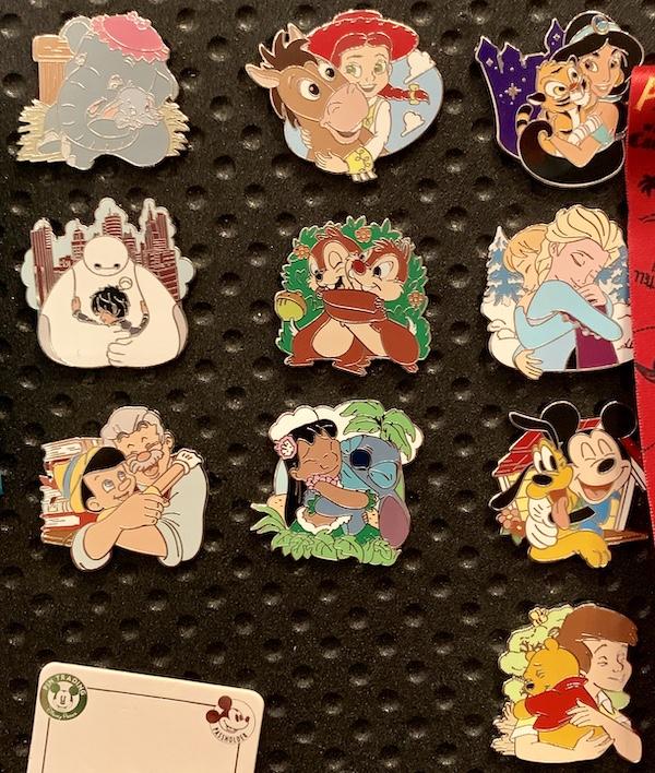 Disney Hugs Mystery Pins