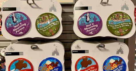 Disney Parks Button Sets