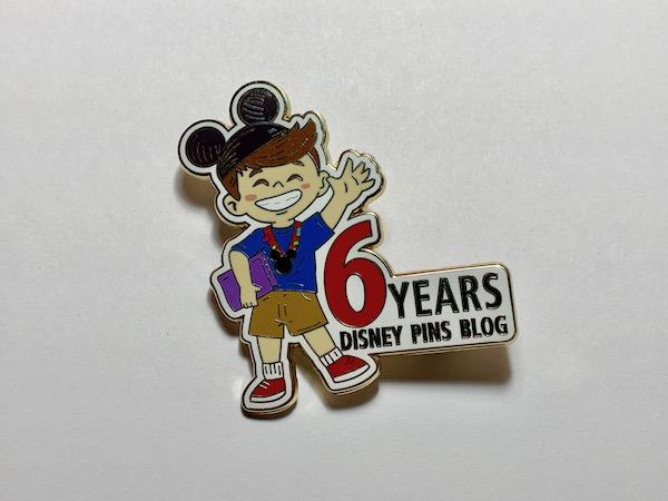 Disney Pins Blog 6th Anniversary Pin