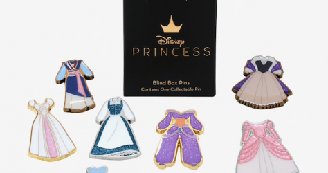 Disney Princess Dress Collection Vol. 2 BoxLunch Pins