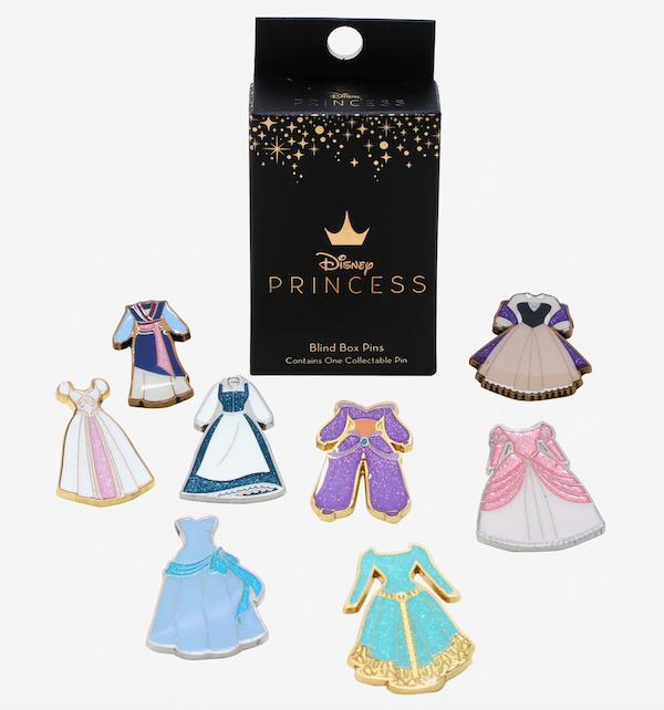 Disney Princess Dress Collection Vol. 2 BoxLunch Pins
